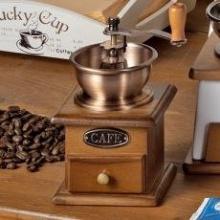 Kaffeemühle Holz nostalgische Optik von depot8 Bild 1