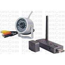 KesCom® 814H Mini Farb Funk Überwachungskamera Bild 1