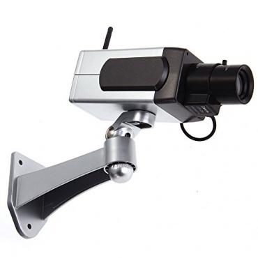 dummy kamera berwachungskamera mit antenne blinkender test. Black Bedroom Furniture Sets. Home Design Ideas