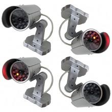 4 Stück Kameraatrappe Dummy Überwachungskamera Bild 1