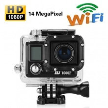 Full HD 1080p Wasserdicht Helmkamera Bild 1