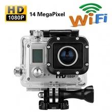 AMKOV Full HD 1080p Wasserfest 14MP Helmkamera Bild 1