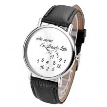 JSDDE Damenuhr Analog Armbanduhr Bild 1