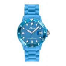 s.Oliver Unisex analoge Armbanduhr Silikon Quarz Bild 1