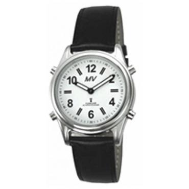 sprechende analoge Damen Funkuhr Armbanduhr Blindenuhr  Bild 1