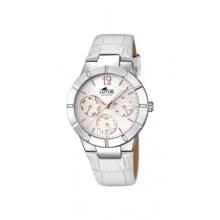 Lotus Damen analoge Armbanduhr Quarz Leder Bild 1