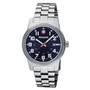 Wenger Damen analoge Armbanduhr Analog Quarz Edelstahl  Bild 1