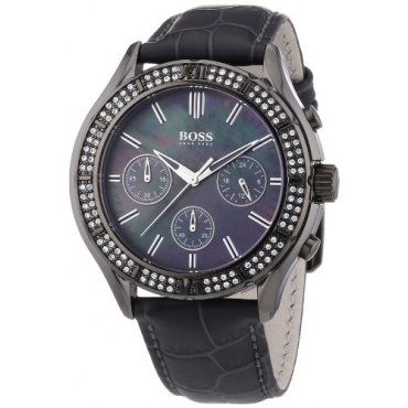 hugo boss damen armbanduhr chronograph test. Black Bedroom Furniture Sets. Home Design Ideas