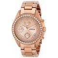 Fossil Damen Armbanduhr Chronograph Q Bild 1