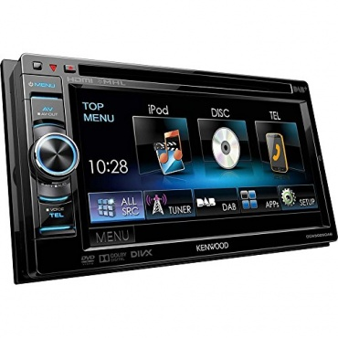 kenwood ddx 5025dab ddx5025dab autoradio mit dvd test. Black Bedroom Furniture Sets. Home Design Ideas