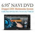 XTRONS TD699G 6.2Zoll LCD FULL HD DVD 2DIN DOPPEL DIN AUTORADIO von Playkid Bild 1