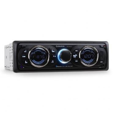 Auna MD-160-BT Bluetooth Autoradio für Smartphones mit MP3-fähigen USB-SD-Slot  Bild 1