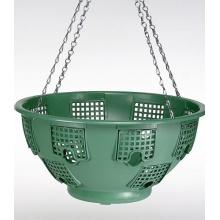 6er Klappen-Hanging-Basket, Blumenampel aus Kunststoff Bild 1