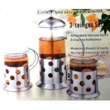 Teebereiter mit 2 Gläsern von Krüger Bild 1