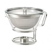 Trendglas Teekanne Globe im empirischen Design, Teebereiter Bild 1