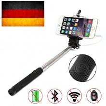Bestdeal NEU Erweiterbar Selfie-Stick Universal Schwarz Bild 1