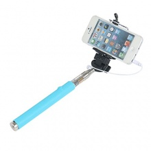 Hunye Selfie Stick Handstativ hellblau Stange Bild 1