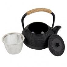 Asiatische Edel Teekanne mit Teesieb 0,35 Liter Gusseisen von 4wandtraum Bild 1