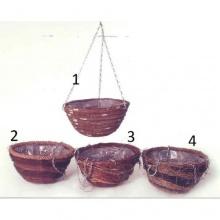 Blumenampel rund 30 cm - Design 4 Bild 1