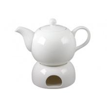 Schöne weiße Teekanne von KlaudiasStore Bild 1