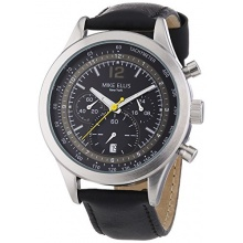 Mike Ellis New York Herren XL Chronograph Quarz Leder SL4-60226 Bild 1