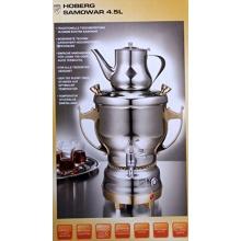 Hoberg, Elektrischer Luxus Samowar, Semawer 4,5 Liter, Teemaschine Bild 1