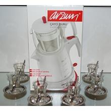 BundEs oriental living Orginal türkisches Tee Set Arzum Cayci Duru Teemaschine Bild 1