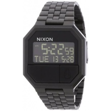 Nixon Unisex Re-Run Digital Quarz Edelstahl A158001-00 Bild 1