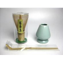 3-teiliges Set Tee-Utensilien, Bambusbesen, Teeschaufel von tyasyaku Bild 1