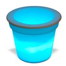 LED RGB Blumentopf mit Farbwechsel Bild 1