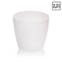 2,2 Liter Blumentopf Übertopf glänzend h-148 mm Bild 1