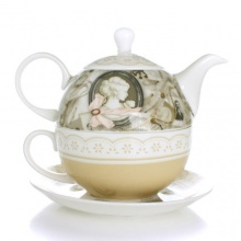 Ufingo Europäische Klassik Bone China Teeservice  Bild 1