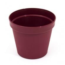 Blumentopf 0,6 Liter Höhe: 10 cm Übertopf Kunststoff Bild 1