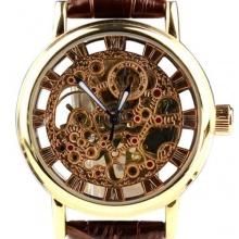Orkina Herren-Armbanduhr Leder mechanisches KC112GB Bild 1
