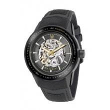 Maserati Herren-Armbanduhr XL Analog Automatik Leder R8821110001 Bild 1