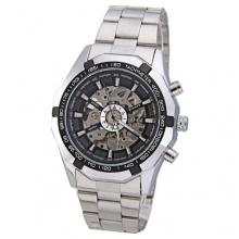 Winner luxuriös Skelett Automatisch Mechanisch Herren Armbanduhr Bild 1