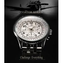KS Herrenuhr Automatikuhr Klassisch Metall Armbanduhr Bild 1