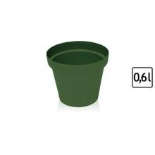 Blumentopf rund d 11 cm h 10 cm Übertopf Kunststoff Bild 1