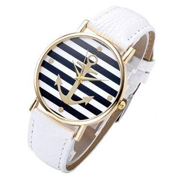 JSDDE Uhren Vintage Damen Anker Design Bild 1