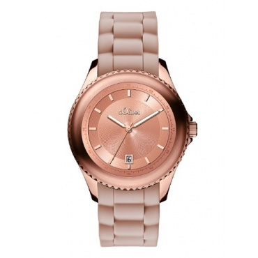s.Oliver Damen Analog Quarz Silikon SO-2908-PQ Bild 1