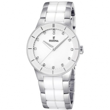 Festina Damen-Armbanduhr XS Analog Quarz Keramik F16531/3 Bild 1