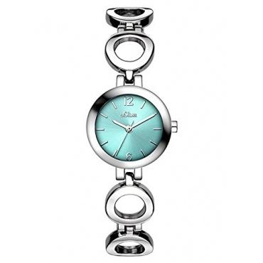 s.Oliver Damen-Armbanduhr XS Analog Quarz Alloy SO-3016-MQ Bild 1