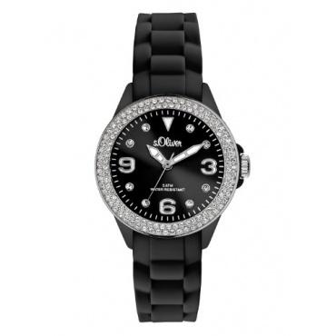 s.Oliver Damen-Armbanduhr XS Analog Silikon SO-2447-PQ Bild 1