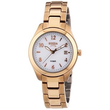 Boccia Damen-Armbanduhr XS Analog Quarz Titan 3224-04 Bild 1