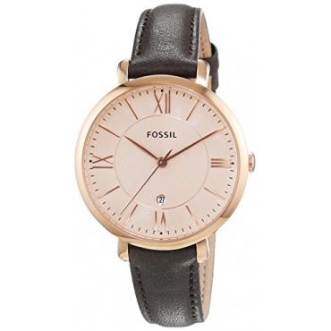 Fossil Damen-Armbanduhr Analog Quarz Leder ES3707 Bild 1