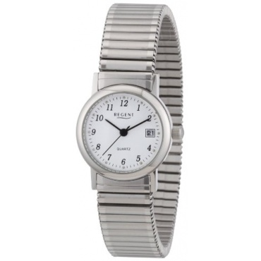 Regent Damen-Armbanduhr XS Analog Edelstahl 12310144 Bild 1
