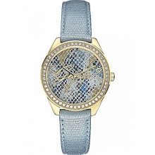 Guess Damen-Armbanduhr Analog Quarz Leder W0612L1 Bild 1
