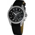 Jacques Lemans Damen XS Chronograph Quarz Leder 1-1724A Bild 1