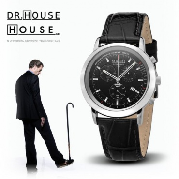 Kronsegler DR.HOUSE Damen Chronograph stahl-schwarz Bild 1