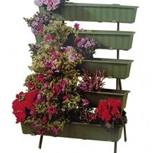 Blumentreppe mit 5 Stufen 120cm hoch Bild 1